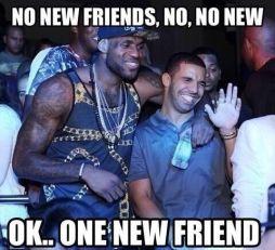 Simple New Drake Meme image gallery no new friends meme